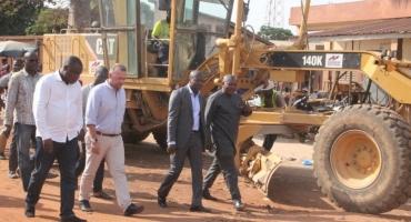 Construction du giratoire de Tchaourou: La remise officielle du site effectuée