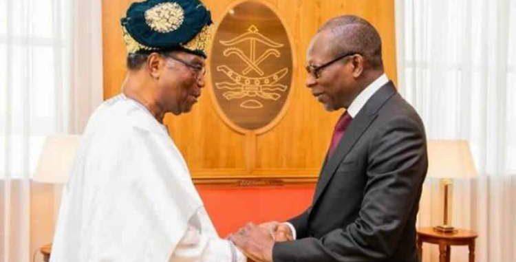 Après son entretien avec le chef de l'Etat Soglo témoignage de la bonne foi de Talon