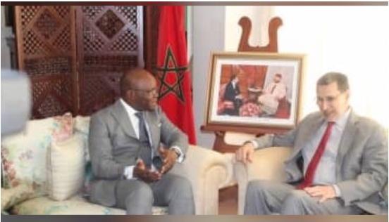 Renforcement de l'axe Bénin-Maroc Le ministre Aurélien Agbénonci chez Saad Eddine El Otmani