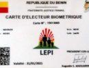 Législatives 2019: La distribution des cartes d'électeurs a démarré et s'achève le 16 avril