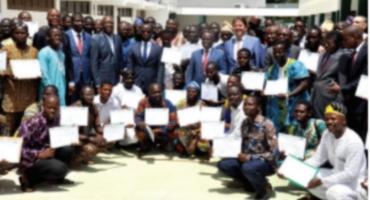 Formation de 360 artisans acteurs de l'énergie: Une centaine d'électriciens reçoivent leurs attestations