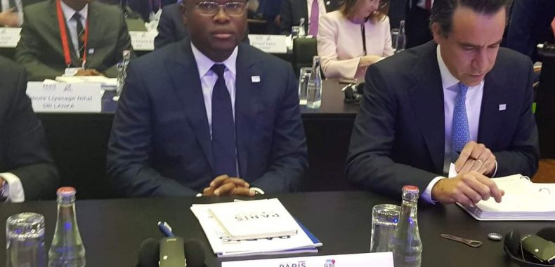 Wadagni au Forum sur le financement du développement à Paris:Le « modèle Talon » mis en lumière au G20