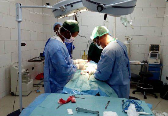 Campagne de chirurgie au Bénin Direct Aid soulage les plus vulnérables