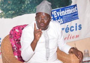 L'ancien député Fcbe, Nourénou Atchadé, invité de « Sous l'arbre à Palabre » au siège de l'Evènement Précis: «Talon ne veut pas dialoguer»