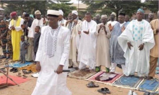 Célébration de la fête de la Tabaski Les fidèles musulmans ont prié pour le Bénin