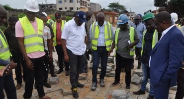 Asphaltage des rues à Porto-Novo et Sèmè-Podji: José Tonato s'enquiert de l'évolution du projet