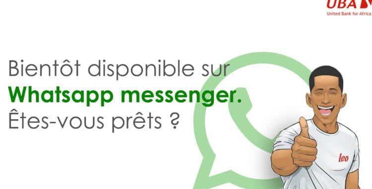 Léo de UBA bientôt disponible sur WhatsApp au Bénin