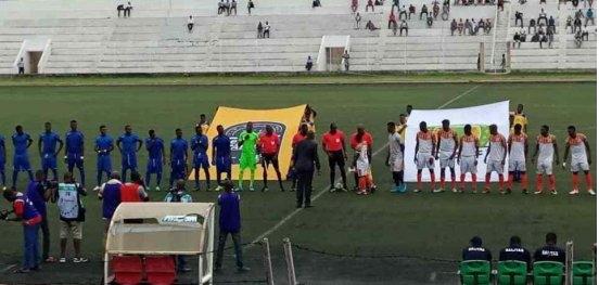 2e tour aller du préliminaire de la Coupe CAF ESAE et SALITAS font match nul à Cotonou