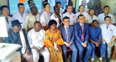 Coopération sino-béninoise: Un centre de télémédecine mis en service à Lokossa