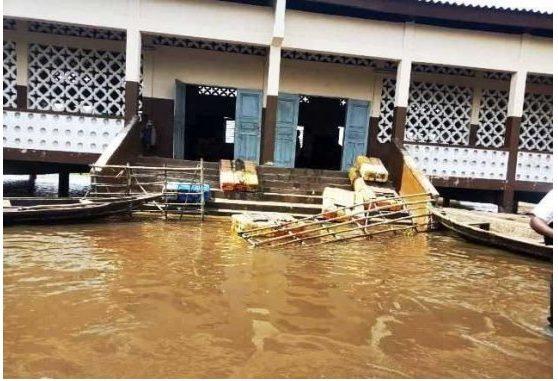 Inondation D'énormes risques pour les écoliers d'Agonvè à Zagnanado