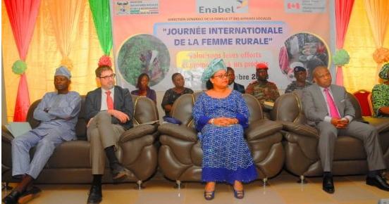 Journée internationale de la Femme Rurale La ministre Tognifodé Mèwanou salue les femmes