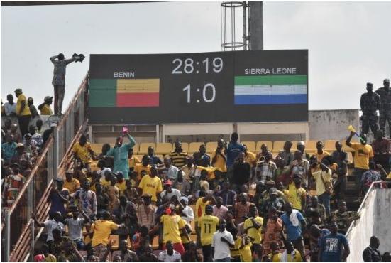 En images les temps forts du match Bènin-Sierra Léone