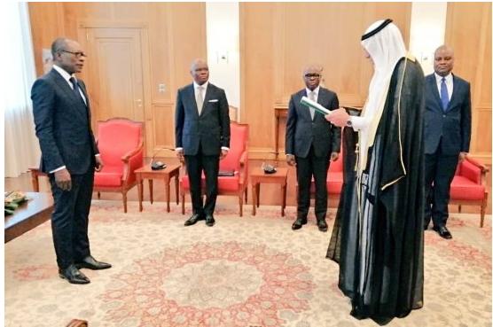 Diplomatie Remise de lettres de créance de 06 ambassadeurs ce mardi