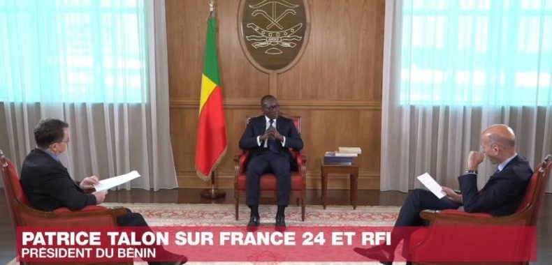 Entretien du président de la République sur France 24: Talon réaffirme sa conviction quant aux réformes
