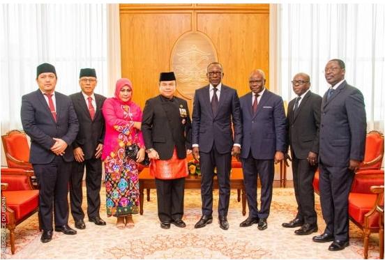 Diplomatie 04 nouveaux ambassadeurs accrédités