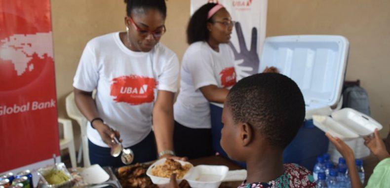 Œuvre sociale : LA FONDATION UBA OFFRE UN DEJEUNER A UNE CENTAINE D'ENFANTS DU « SOS VILLAGE D'ENFANTS » D'ABOMEY-CALAVI