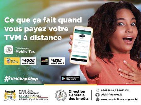 Procédures fiscales au Bénin: La TVM simplifiée, le paiement désormais par téléphone mobile