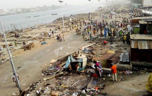 Déguerpissement du Chenal de Cotonou : Dantokpa respire sur les berges