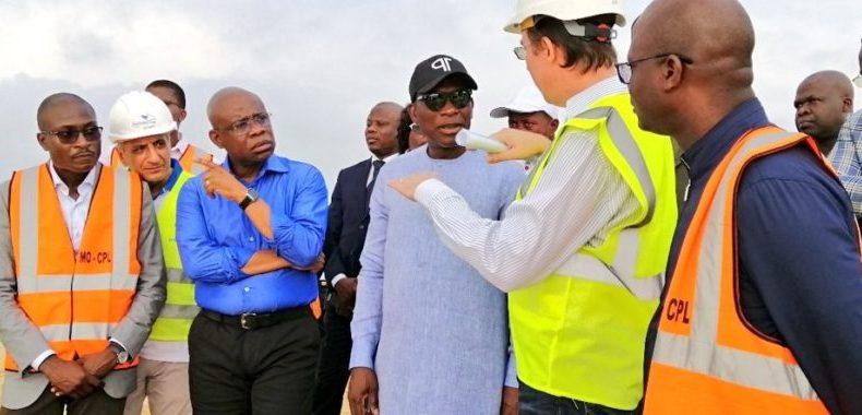Chantiers de protection des côtes à Avlékété: Le président Talon veille à l'efficience des travaux