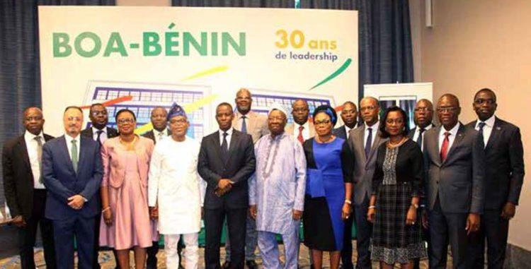 Secteur bancaire béninois: BOA BÉNIN célèbre ses 30ans d'existence