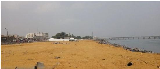 Assainissement du cadre de vie à Cotonou La berge lagunaire change de visage