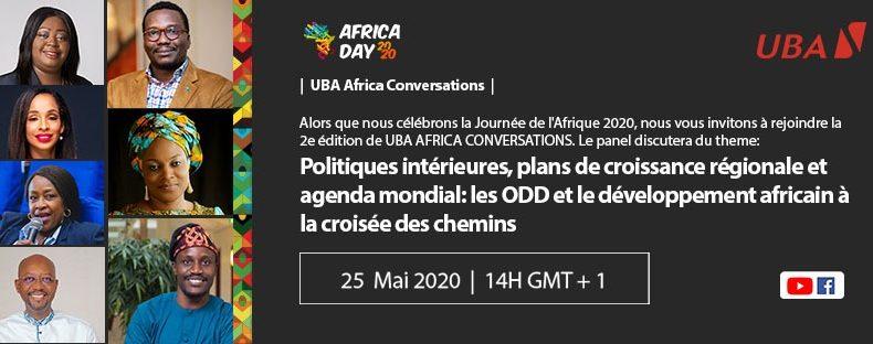 Journée de l'Afrique 2020: LE GROUPE UBA TIENT UNE ASSISE SUR LES ODD ET LE DEVELOPEMENT DE L'AFRIQUE