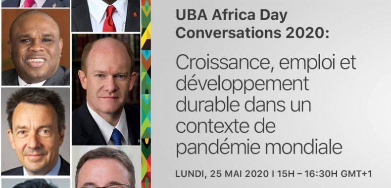 COMMUNIQUE DE PRESSE LE GROUPE BANCAIRE AFRICAIN UBA REAFFIRME SON ENGAGEMENT EN FAVEUR DU DEVELOPPEMENT DU CONTINENT A LA FAVEUR DE LA JOURNEE DE L'AFRIQUE