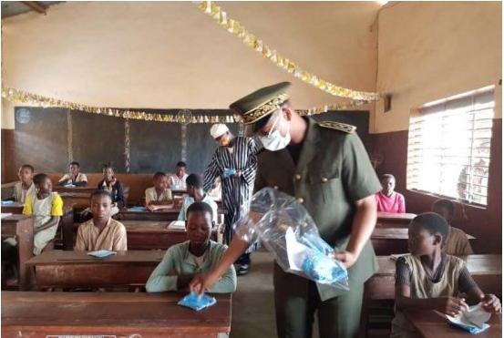 Reprise des activités académiques en pleine crise du Covid-19: Des masques distribués aux apprenants dans le Borgou