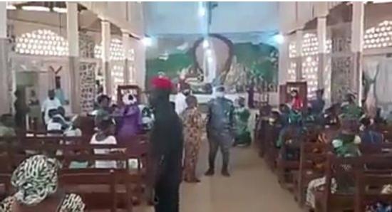 Intervention des policiers en pleine messe à Glazoué: Ce qui s'est passé à la paroisse Ste Bernadette de Ouèdèmè