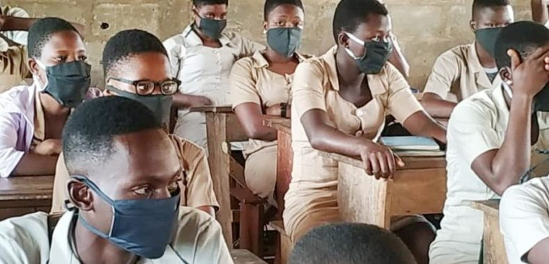 Reprise des cours: Apprenants masqués, distancés, mais contents à Cotonou !