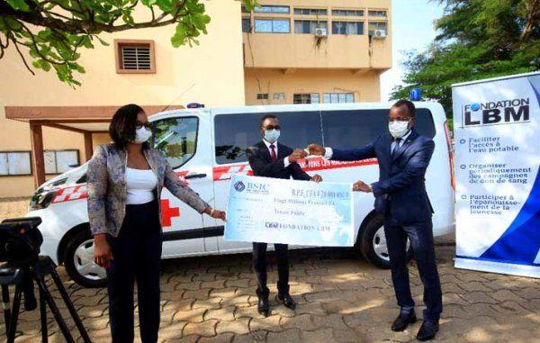 Lutte contre le Coronavirus au Bénin : La fondation LBM apporte son soutien au gouvernement