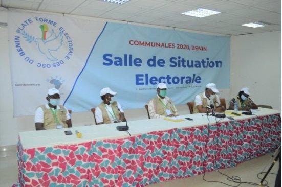 Elections communales et municipales 2020 Les constats des Organisations de la société civile