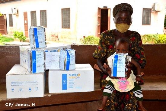 Soutien aux sinistrés des inondations de 2019 au Bénin Le PAM pour le suivi de la santé nutritionnelle des enfants