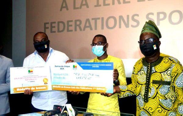 Gala des Fédérations nationales sportives : Le Cnos-Benin récompense trois Fédérations