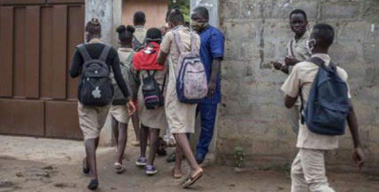 Ceg1 de Natitingou: Huit élèves filles tombent en transe