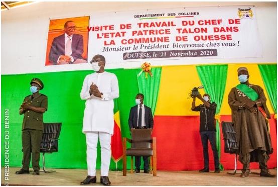 Tournée du Chef de l'Etat : Les assurances Talon pour le développement de Glazoué