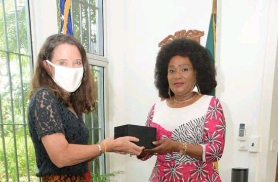 International Visitor Leadership Program: Marie-Elise Gbedo récompensée par les Etats-Unis
