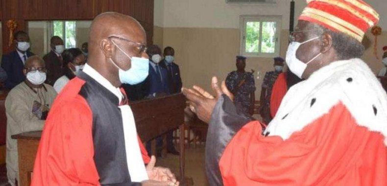 Cour d'appel de Cotonou: Justin Gbènamèto installé président