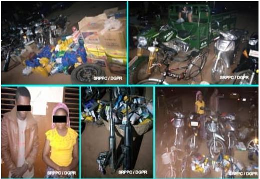 Lutte contre l'insécurité à Houègbo Plusieurs motocyclettes saisies, les présumés voleurs arrêtés