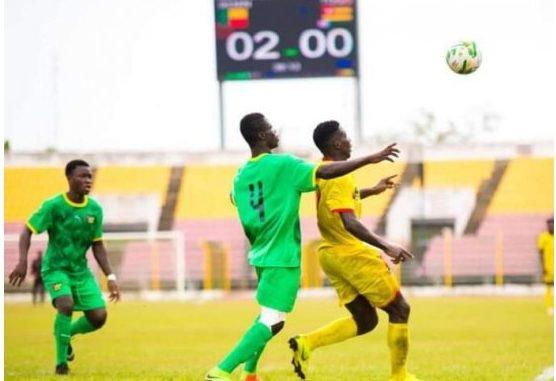 Tournoi Ufoa U20 Le Bénin bat le Togo 2 # 0