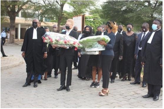 Obsèques: Le monde judiciaire rend hommage à Me Zossoungbo