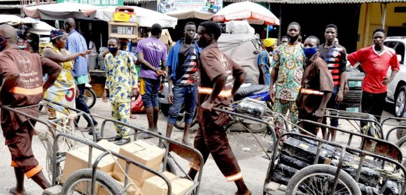 Face à certaines difficultés au marché Dantokpa: Les traineurs de pousse-pousse donnent de la voix