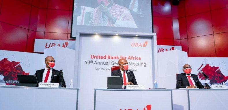 Assemblée Générale des Actionnaires : UBA est bien lancée pour tirer parti de la relance économique en 2021, déclare M. Elumelu