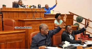 Budget de l'Assemblée nationale: Les députés adoptent 14 056 442 591 F Cfa pour 2018