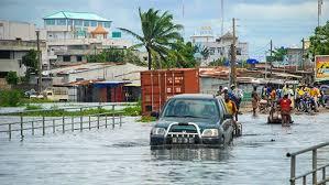Saison pluvieuse au Bénin : Plusieurs quartiers inondés à Cotonou