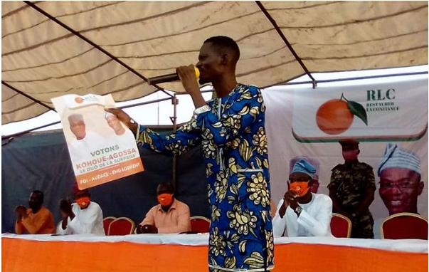 Présidentielle de 2021 : Les populations de Porto-Novo s'alignent derrière le duo Kohoué-Agossa