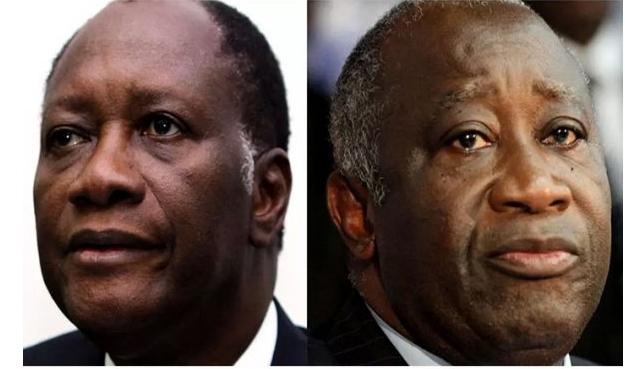 Alassane Ouattara et Laurent Gbagbo : de la lutte à mort aux retrouvailles forcées