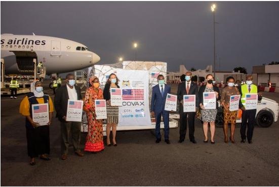 Coronavirus Les États-Unis font don de 302,400 doses de vaccin Johnson & Johnson au Bénin
