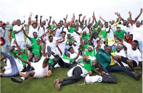 Super ligue pro de football Esae Fc, nouveau champion du Bénin