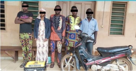 Lutte contre l'insécurité à Bohicon 05 individus arrêtés pour vol et cambriolage